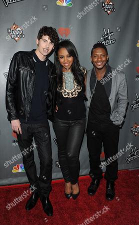 Garrett Gardner, Sasha Allen and Kris Thomas