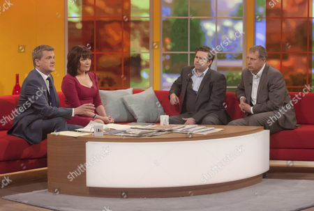 Aled Jones and Lorraine Kelly with Dean Dunham and Mark Williams Thomas.