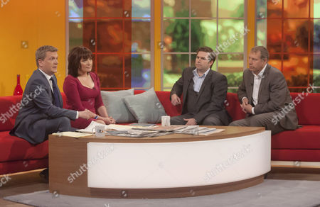 Aled Jones and Lorraine Kelly. with Dean Dunham and Mark Williams Thomas.