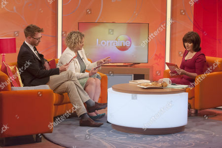 Olly Kendall and Eleanor Mills with Lorraine Kelly