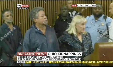 Editorial photo of Bail hearing regarding the kidnapping of three Cleveland women, Ohio, America - 09 May 2013