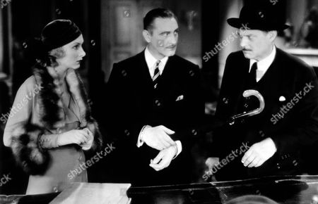 Lionel Barrymore, John Barrymore and Karen Morley