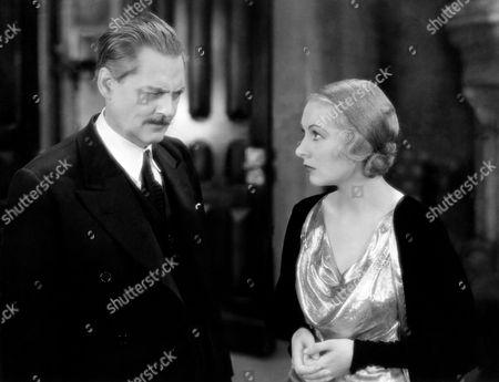 Lionel Barrymore and Karen Morley
