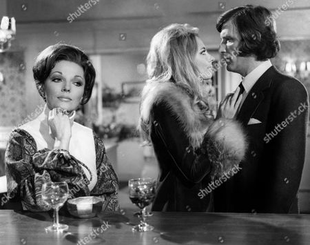 Joan Collins, Juliet Harmer and Tom Bell