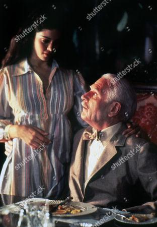 Kathleen Beller and Laurence Olivier