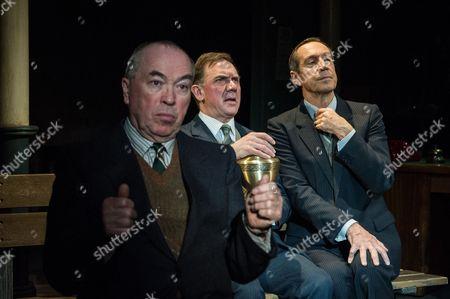 Iain Mitchell, David Bamber and Jonathan Hyde.