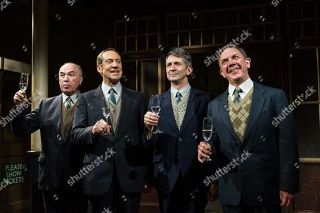 Iain Mitchell, Jonathan Hyde, Gregory Dudgeon, David Bamber.