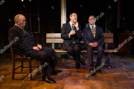 Iain Mitchell, Jonathan Hyde, David Bamber.