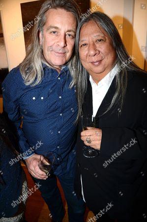 Simon Brown and John Rocha