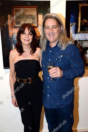 Susan Young and Simon Brown