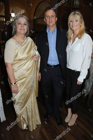 Babli Sharma, David Osmon and Gaby Roslin