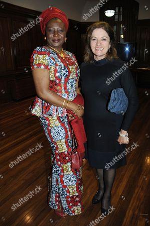 Stock Photo of Diana Quick and Salamatu Tafida