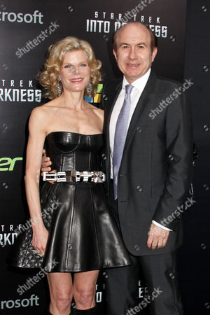 Debra Dauman and Philippe Dauman, President and CEO of Viacom