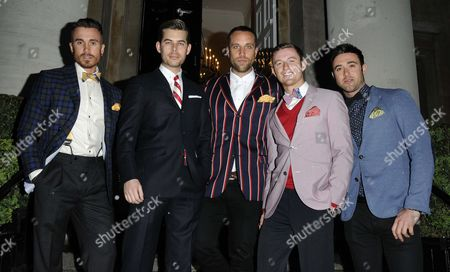 The Overtones Timmy Matley Lachie Chapman Mike Crawshaw Mark Franks Darren Everest