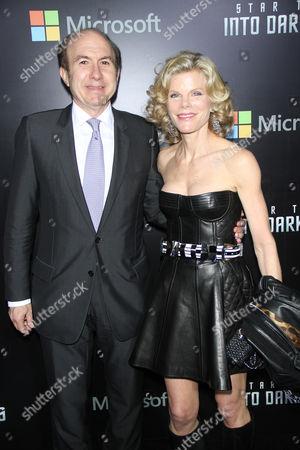 Stock Photo of Philippe Dauman and Debra Dauman