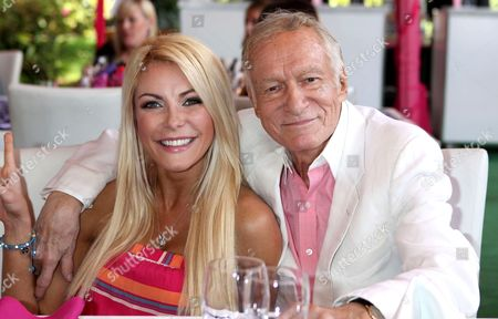 Stock Picture of Crystal Harris and Hugh Hefner