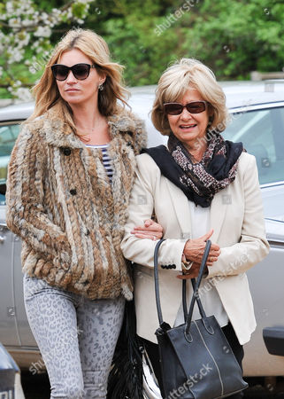 Stock Picture of Kate Moss and Carole Hince