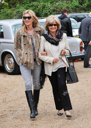 Editorial photo of Kate Moss spending the weekend with the in-laws in the Cotswolds, Britain - 11 May 2013