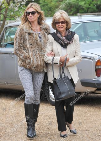 Editorial picture of Kate Moss spending the weekend with the in-laws in the Cotswolds, Britain - 11 May 2013