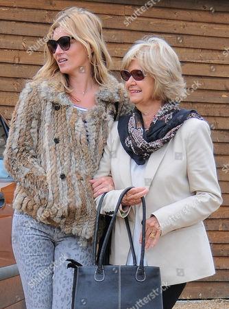 Kate Moss and Carole Hince