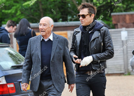 Stock Image of Jamie Hince with his father William Hince