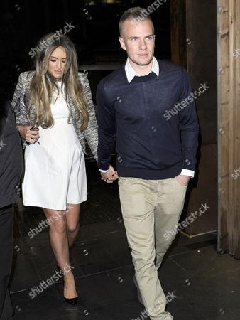 Georgina Dorsett and Tom Cleverley