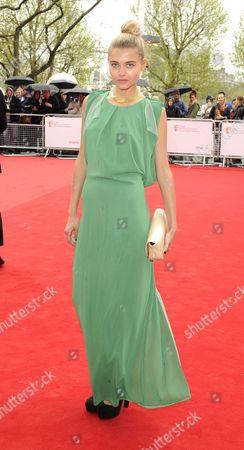 Editorial photo of Arqiva British Academy Television Awards, arrivals, Royal Festival Hall, London, Britain - 12 May 2013