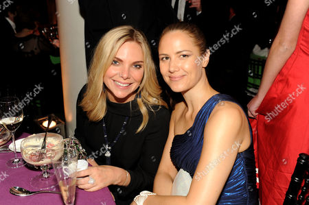 Samantha Womack and Estelle Rubio Maslen