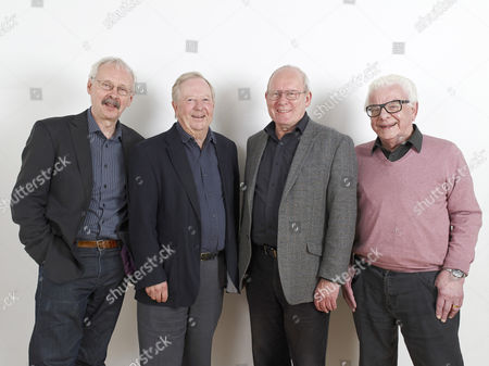 Colin Sell, Tim Brooke-Taylor, Graeme Garden and Barry Cryer