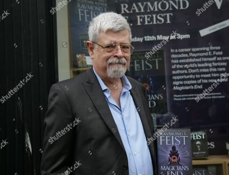 Editorial image of Raymond E. Feist 'Magician's End' book signing at Waterstones, Reading, Britain - 12 May 2013