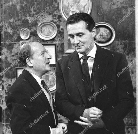 Leslie French and Patrick Macnee