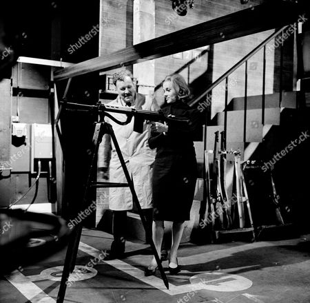 Robin Wentworth and Honor Blackman