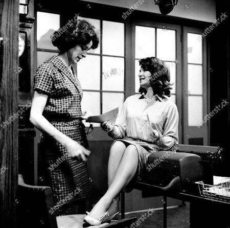 Judy Parfitt and Mitzi Rogers