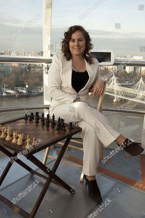 Editorial image of Chess player Judit Pulgar, London, Britain - 11 May 2013