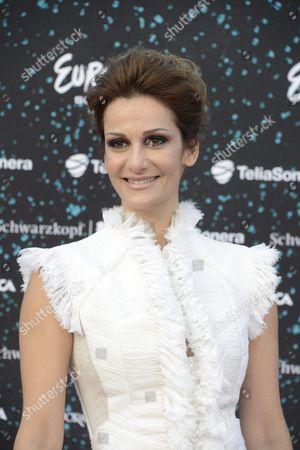 Stock Photo of Despina Olympiou of Cyprus