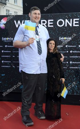 Igor Vovkovinskiy and Zlata Ognevich of Ukraine