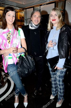 Editorial picture of Purple Fashion and Joe's Jeans - VIP dinner, Le Caprice, London, Britain - 13 May 2013