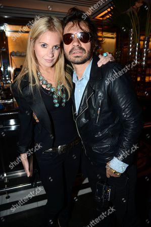Marissa Montgomery and Olivier Zahm