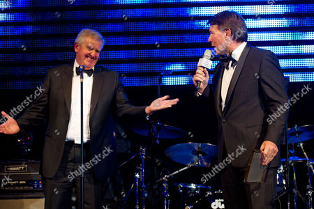 Colin Montgomerie and Richard Park