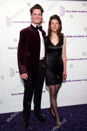 Stock Image of Peter Wilson with girlfriend Michelle McCullagh