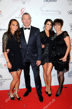 Stock Picture of Leslie Lemarchal, Karine Ferri, Laurence Lemarchal and Pierre Lemarchal