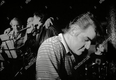 Rocket 88 in concert at Dingwalls, Camden, London, Britain - Chris Farlowe, Ian Stewart and Charlie Watts