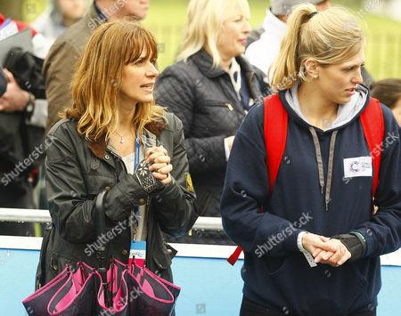 Carol Smillie and Gemma Gibbons