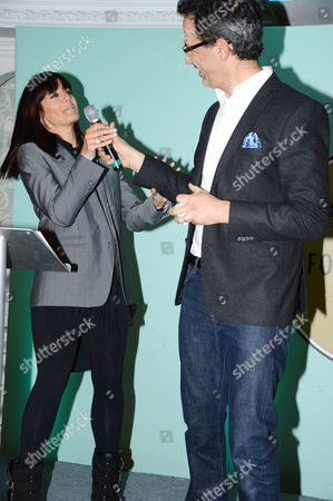 Yotam Ottolenghi with Claudia Winkleman
