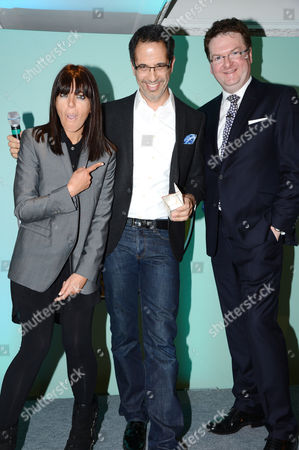 Yotam Ottolenghi with Claudia Winkleman and Ewan Venters