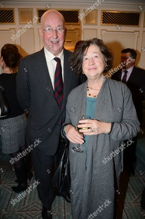 Reg Gadney and Fay Maschler