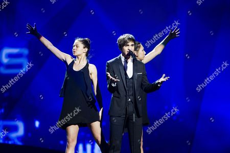 Editorial image of Eurovision Song Contest 2013 Dress Rehearsals, Malmo, Sweden - 13 May 2013