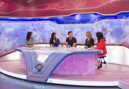 Andrea McLean, Shobna Gulati, Dean Lennox Kelly, Carol McGiffin and Jane McDonald.