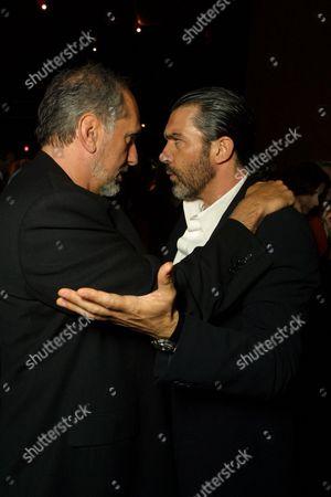 Michael Cristofer and Antonio Banderas