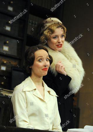 'London Wall' - Alix Dunmore as Miss Janus and Mia Austen as Miss Bufton